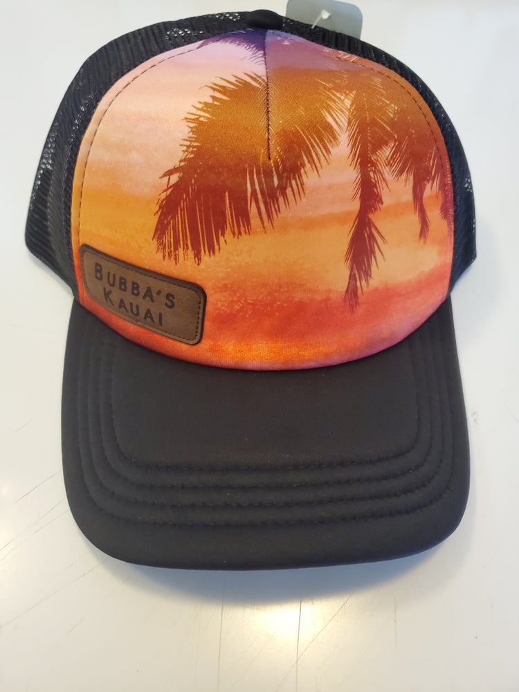 Image of Sunset Snap Mesh w/ leather patch