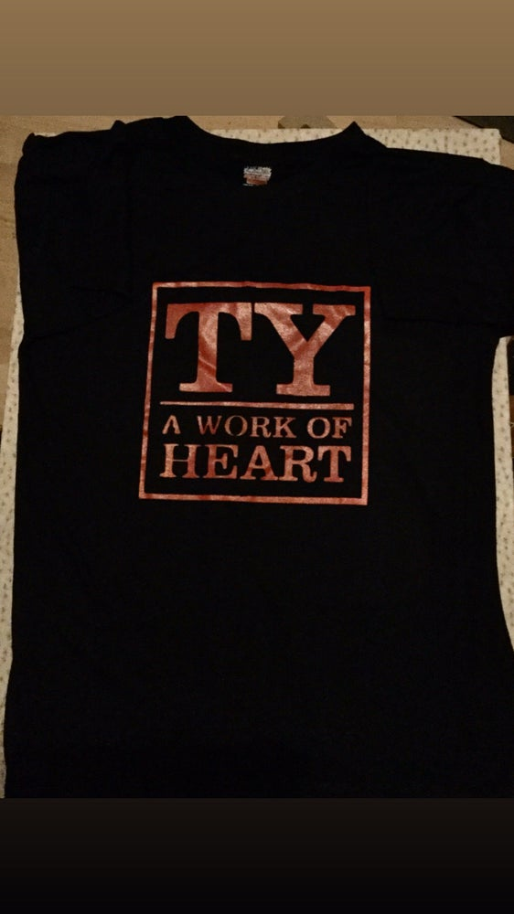 Image of A Work of Heart T-Shirt (Red & Black)