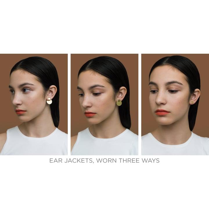 Image of Natalie Joy - Dual Shape Ear Jacket