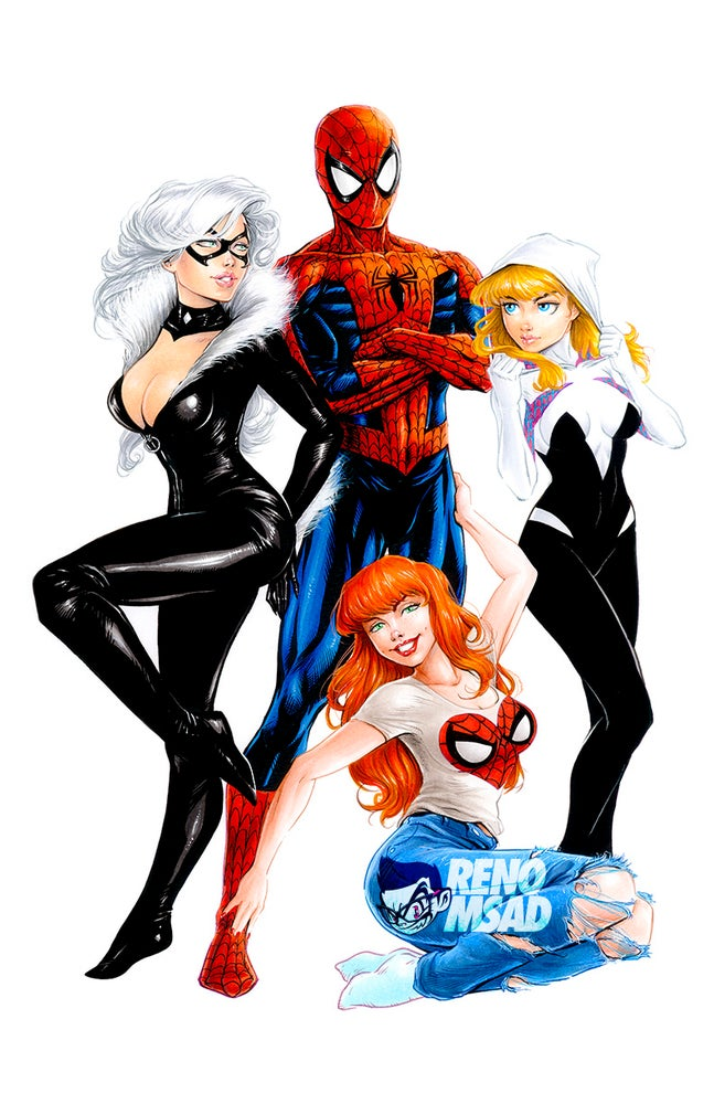 Image of SPIDERMAN LOVES 11x17