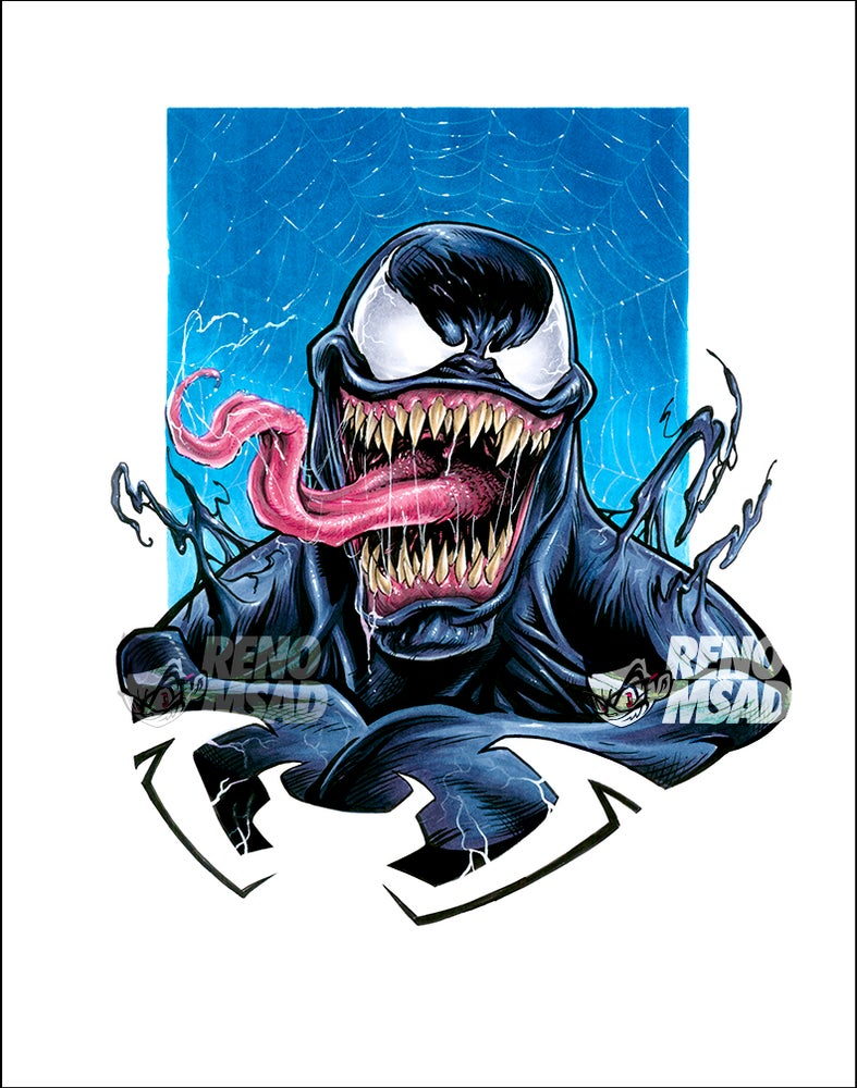 Image of VENOM 11x14