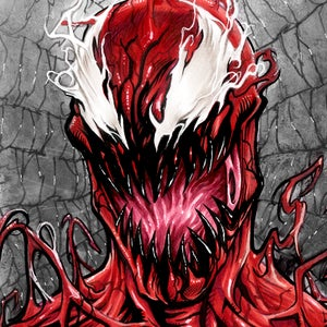 Image of CARNAGE 11x14