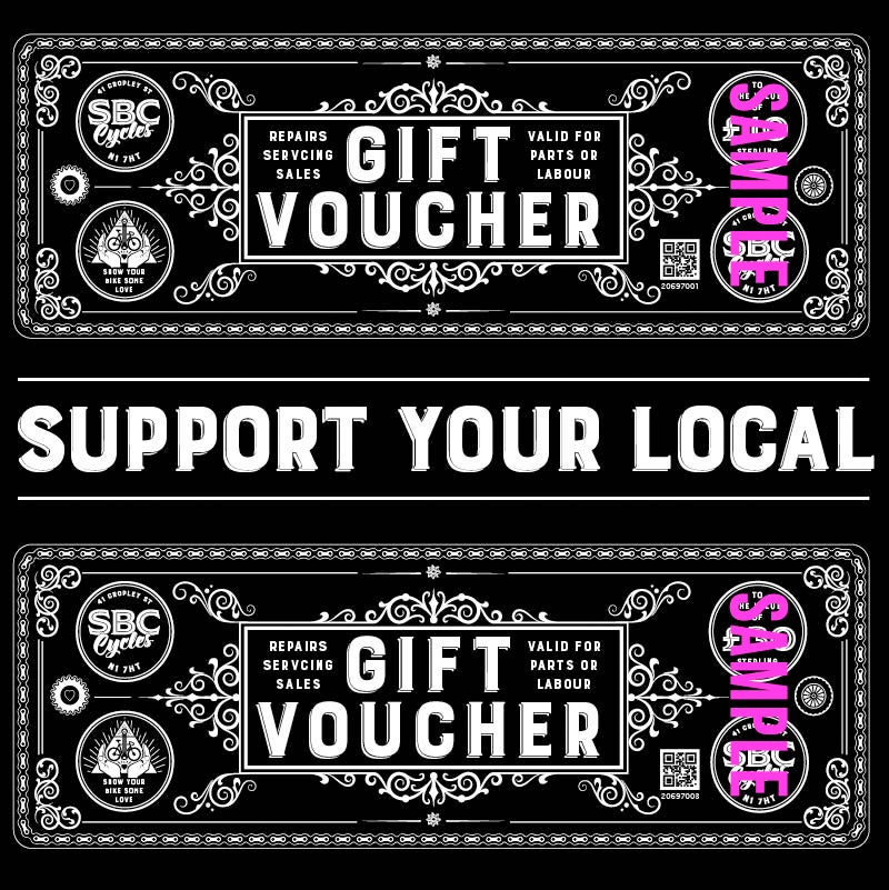Image of GIFT VOUCHERS £25-£2000