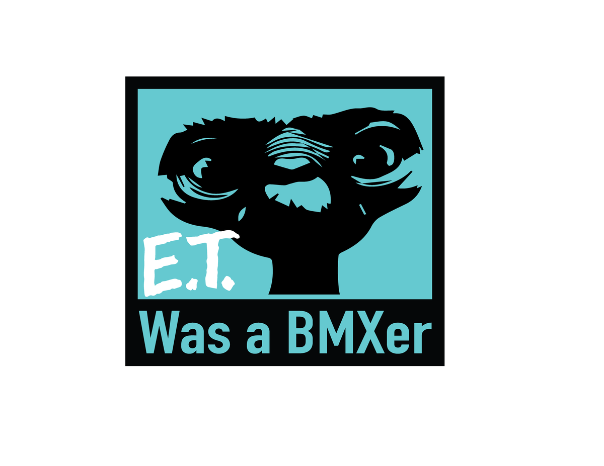 Image of ET WAS A BMXER SHIRT