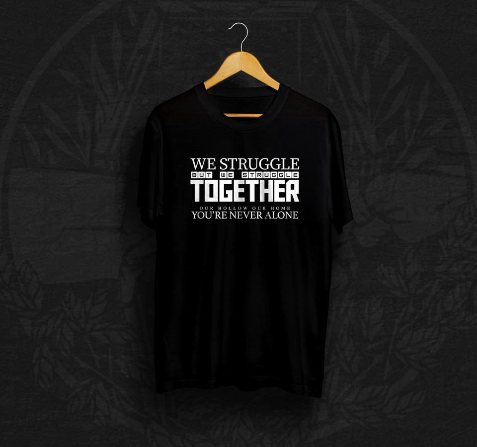 Image of STRUGGLE TOGETHER TEE