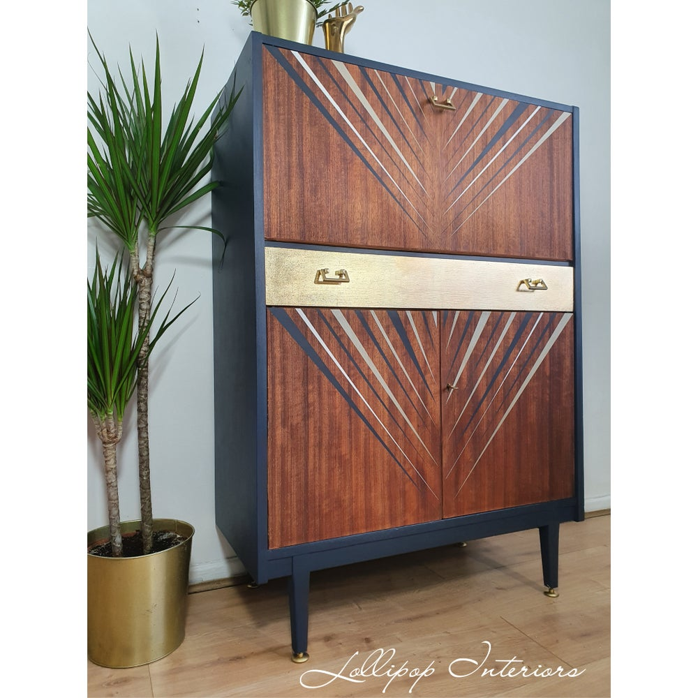 Image of Nathan furniture cocktail cabinet