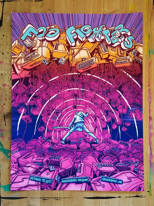 Image of Foo Fighters - Greensboro, NC 2017-