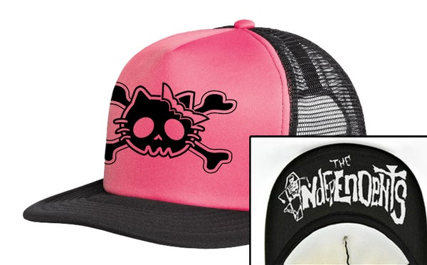 Image of The Independents Kitty Bones Trucker Hat