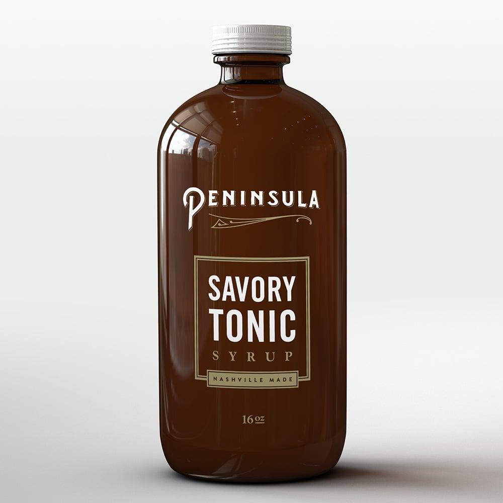 Peninsula Savory Tonic Syrup