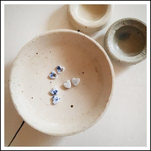 Image of Porcelain Studs - hearts