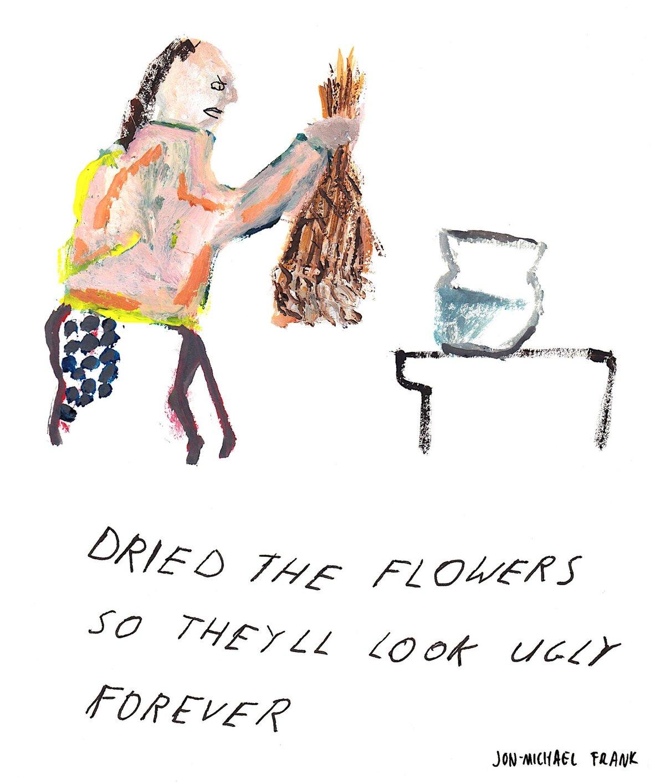 Image of Jon-Michael Frank - Dry Flowers Print