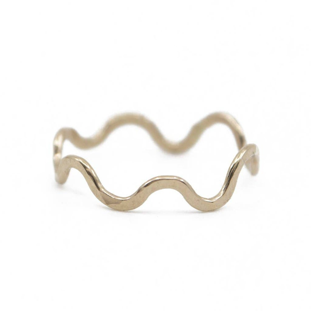 Image of Gold Wiggle Ring
