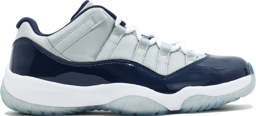 "Image of Nike Retro Air Jordan 11 ""Georgetown"" Sz 10"