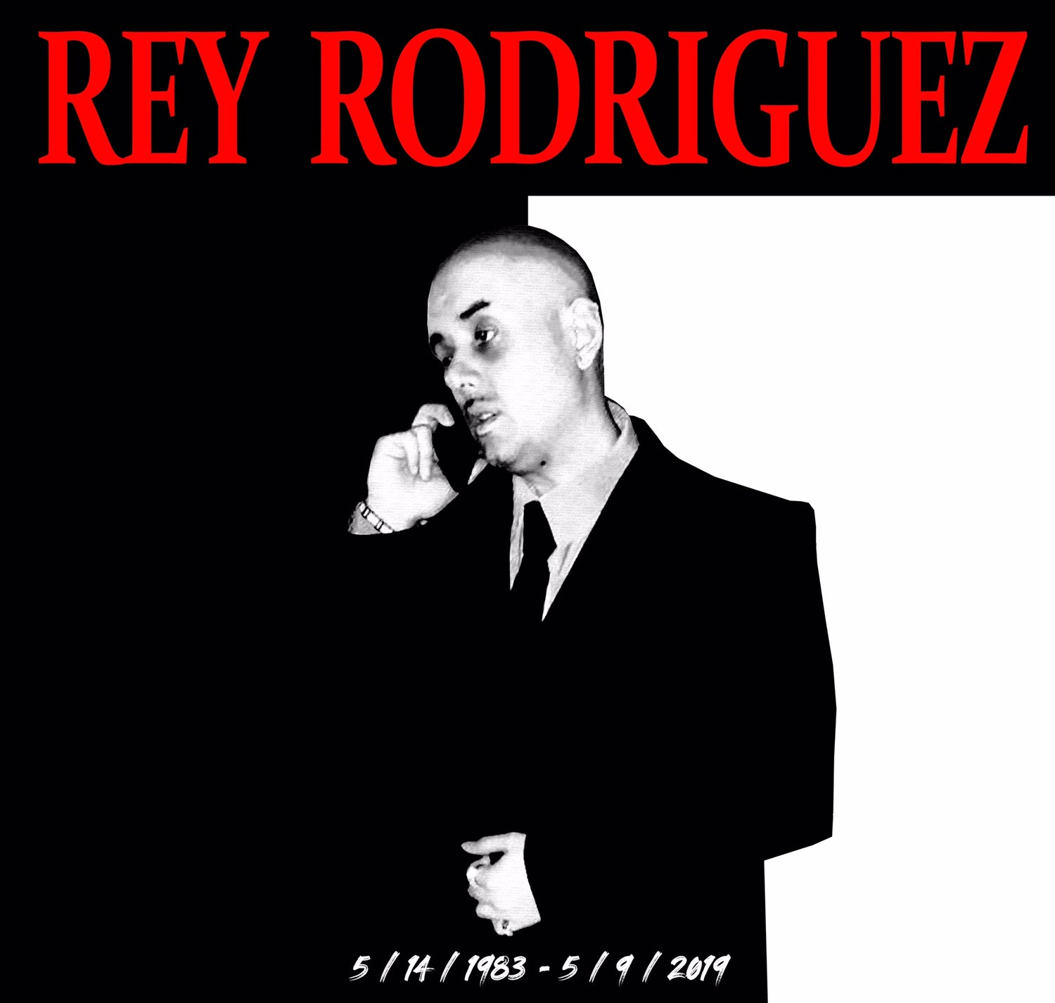 Image of Rey Rodriguez Tribute Shirt