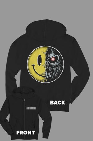 Image of Acidinferno Terminatorsmile Zip Hoodie