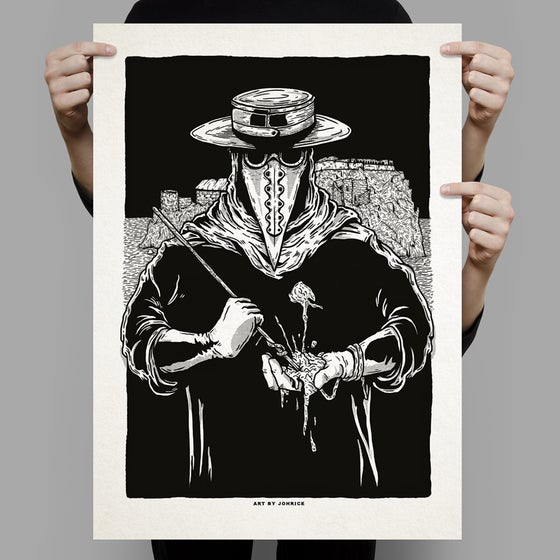 Image of Plague Doctor Poster