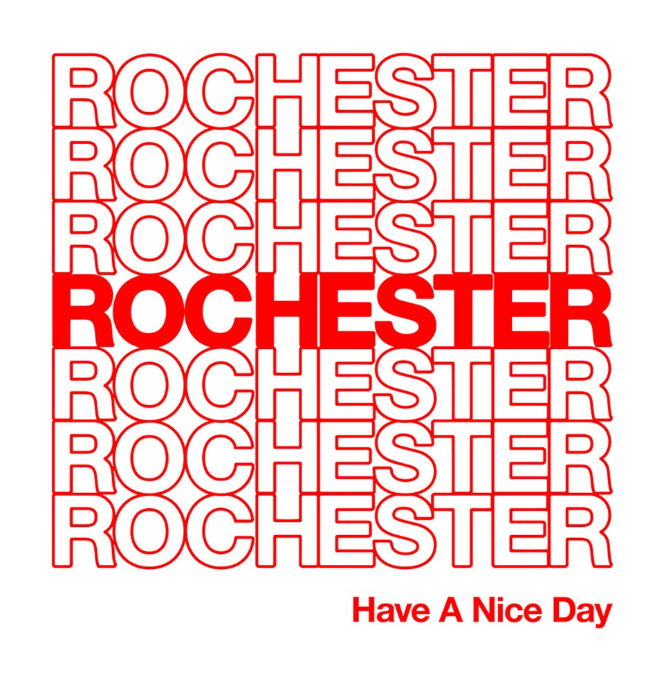 Image of Thank You Rochester Sticker
