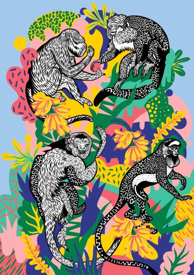 Image of Monkey Tree