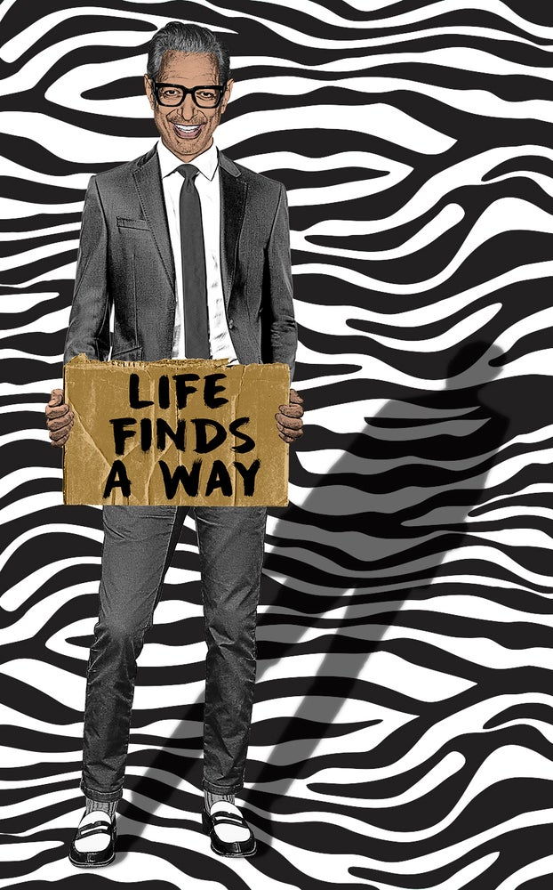 Image of Life Finds A Way Sticker