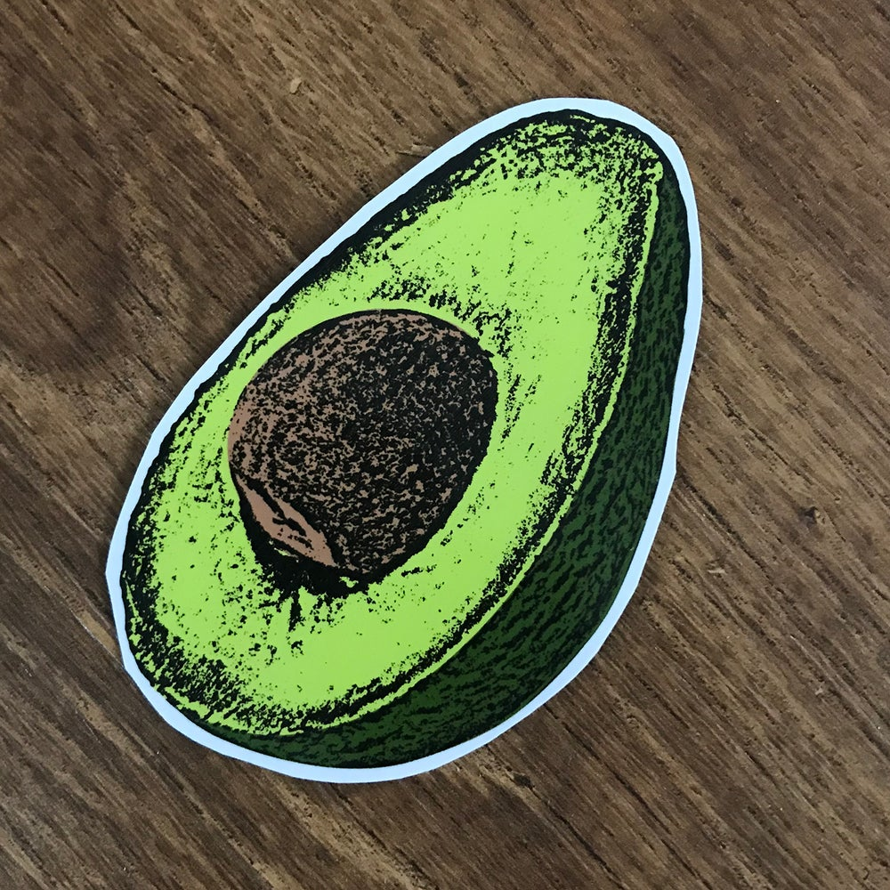 Image of Avocado Sticker