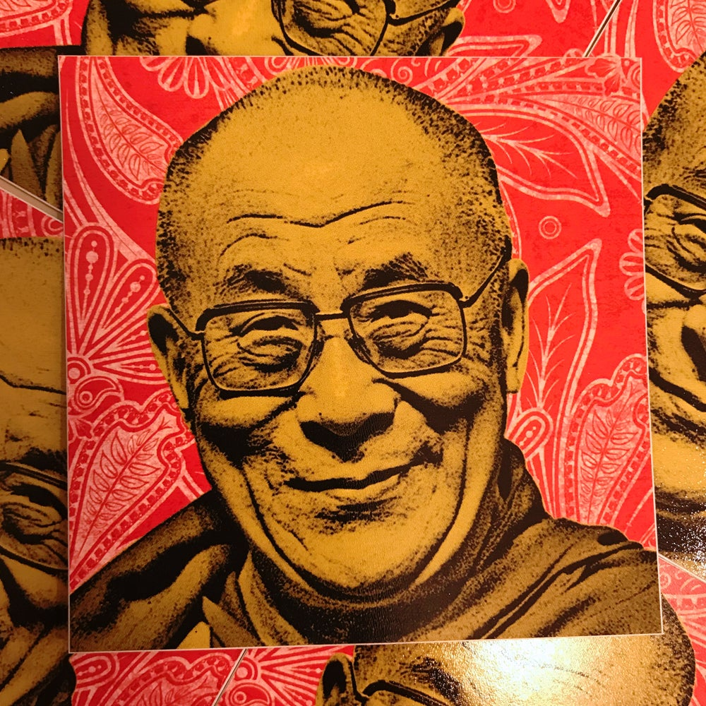 Image of Dalai Lama Sticker