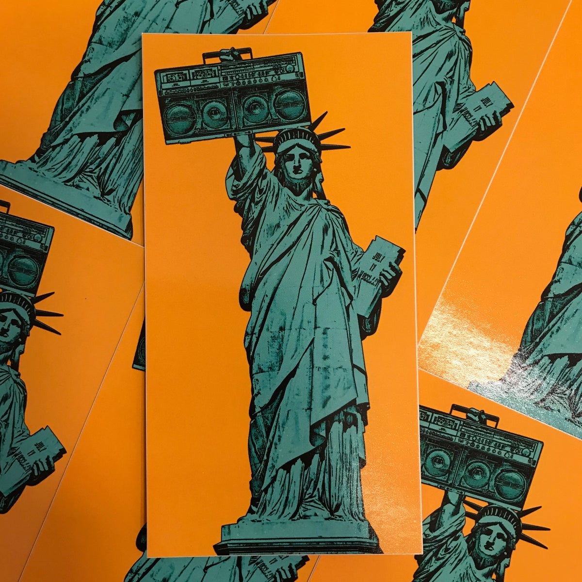 Image of Statue Of Liberty Sticker
