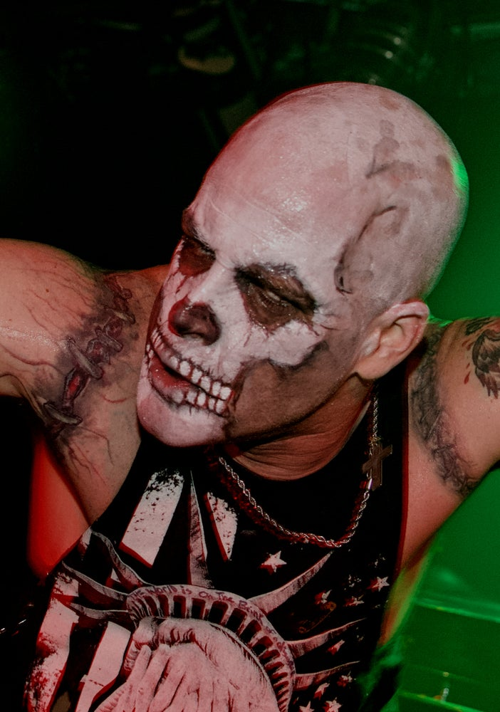 """Image of 11x14 Michale Graves signed poster """"SKULL"""""""