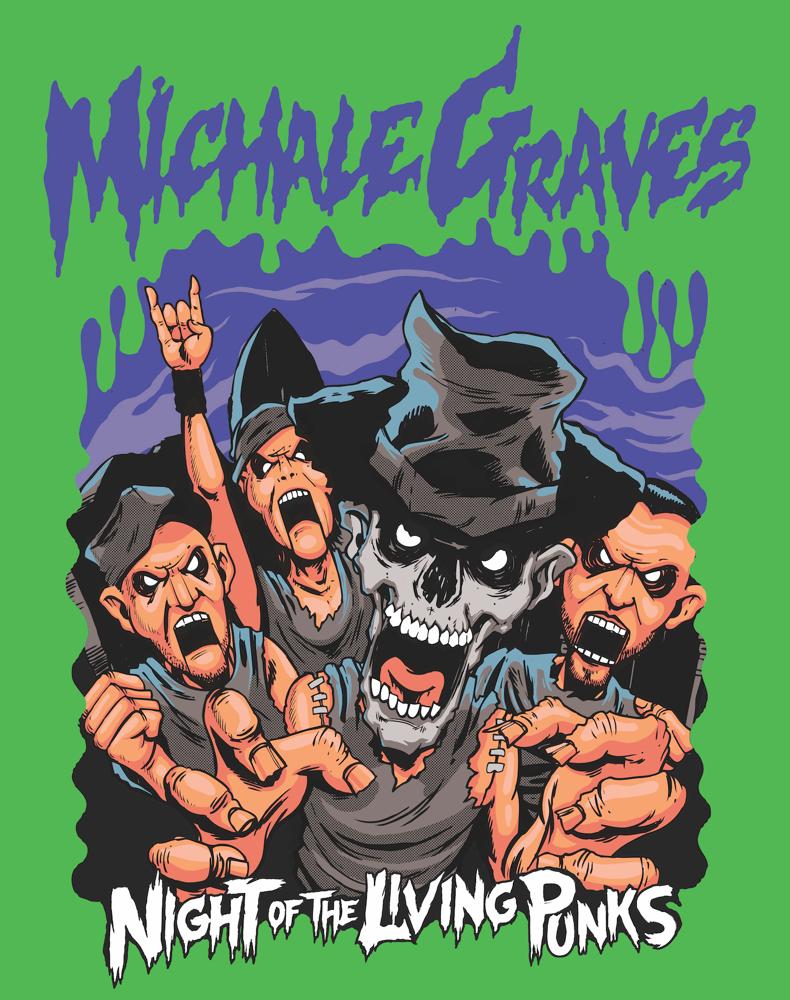 "Image of 15X12 Michale Graves ""GOOSEBUMPS""  PRINT SIGNED"