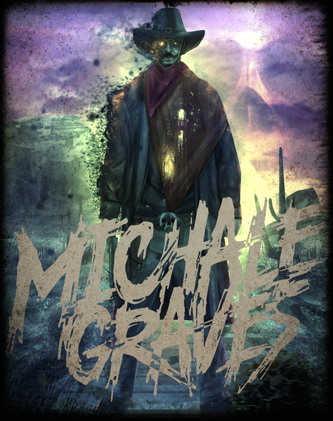 "Image of 13X12  Michale Graves ""TIME TRAVELER"" PRINT SIGNED"