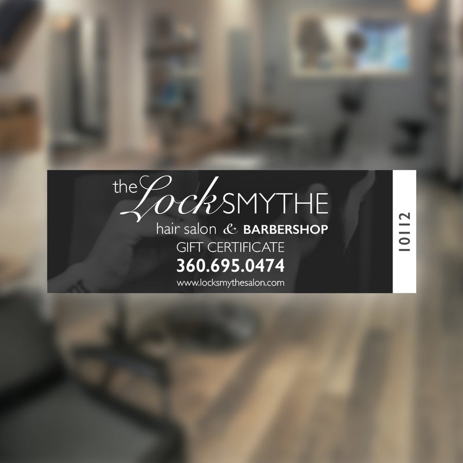 Image of Locksmythe Digital Gift Certificate