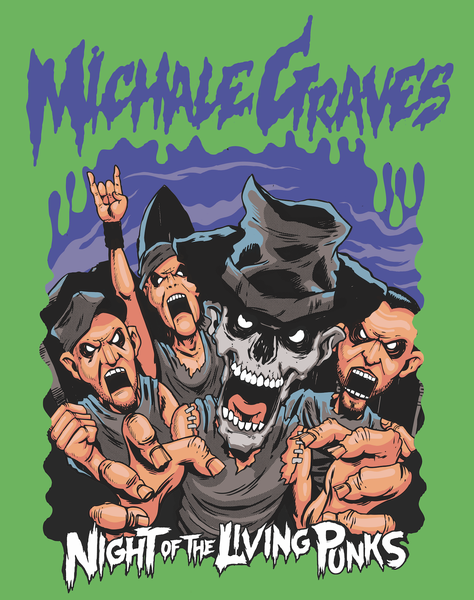 "Image of Michale Graves ""GOOSEBUMPS"" sticker"