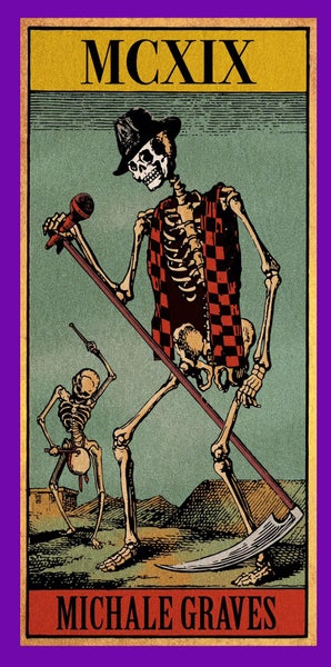 "Image of Michale Graves ""tarot card"" sticker"