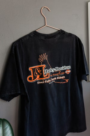 Image of Harley Davidson 'Live to Ride, Ride to Live' tee