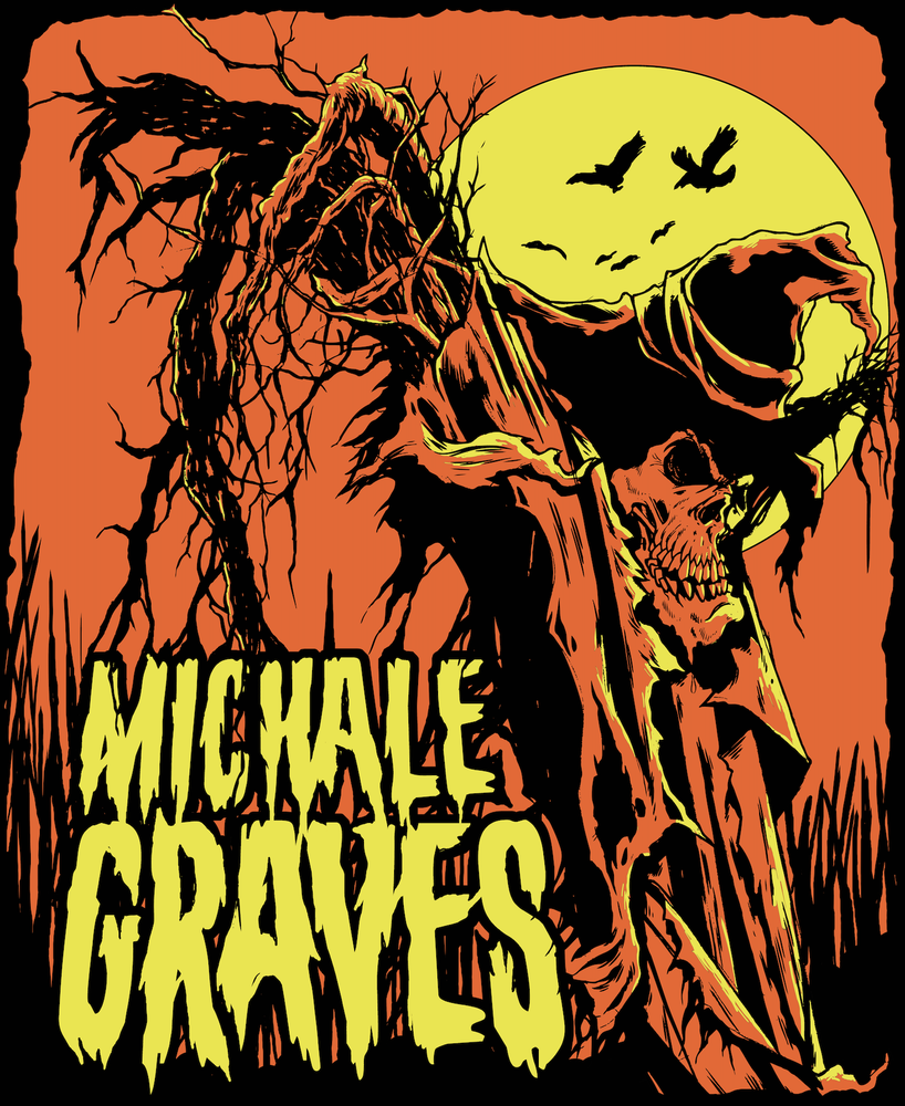 "Image of Michale Graves ""SCARECROW"" sticker"