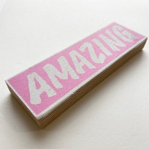 Image of PINK - Pocket Sized Amazing by Charlie Evaristo-Boyce