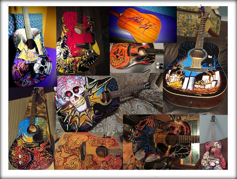 Image of Extremely limited Michale Graves artwork guitar