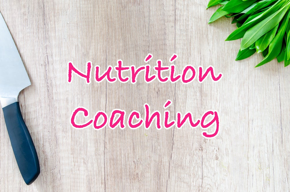 Image of Tailored Nutrition Coaching - 1 month*