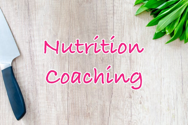 Image of Nutrition Coaching - 1 month