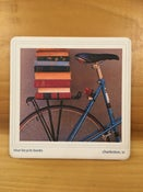 Image of Blue Bicycle Coaster