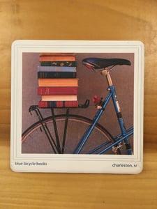 Image of Blue Bicycle Coaster
