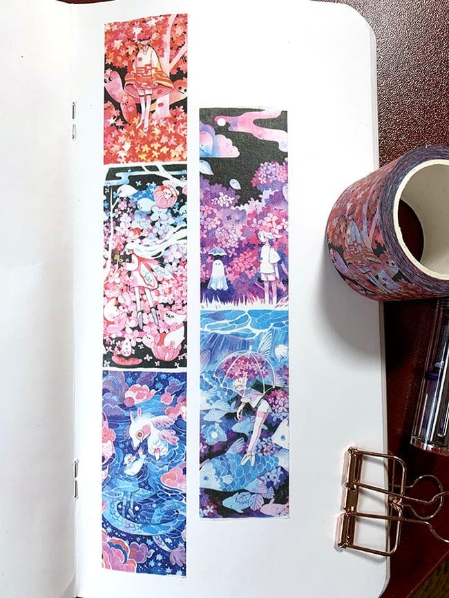 Image of Foliage Washi Tape (3cmx10m)