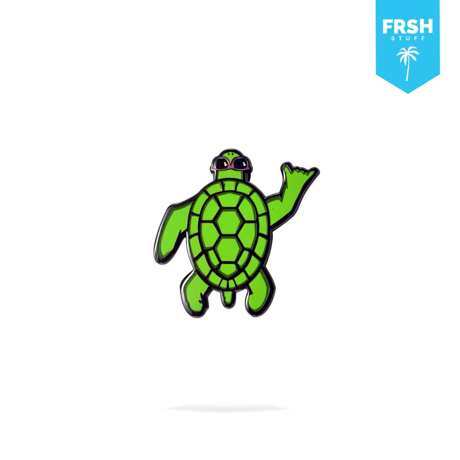 Image of Shell Shaka (Enamel Pin)