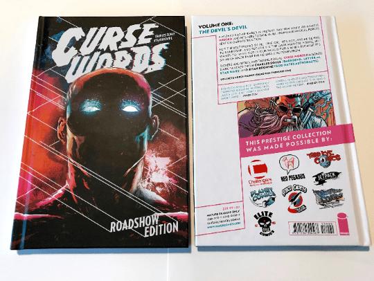 CURSE WORDS VOL. 1 Tour Exclusive Hardcover
