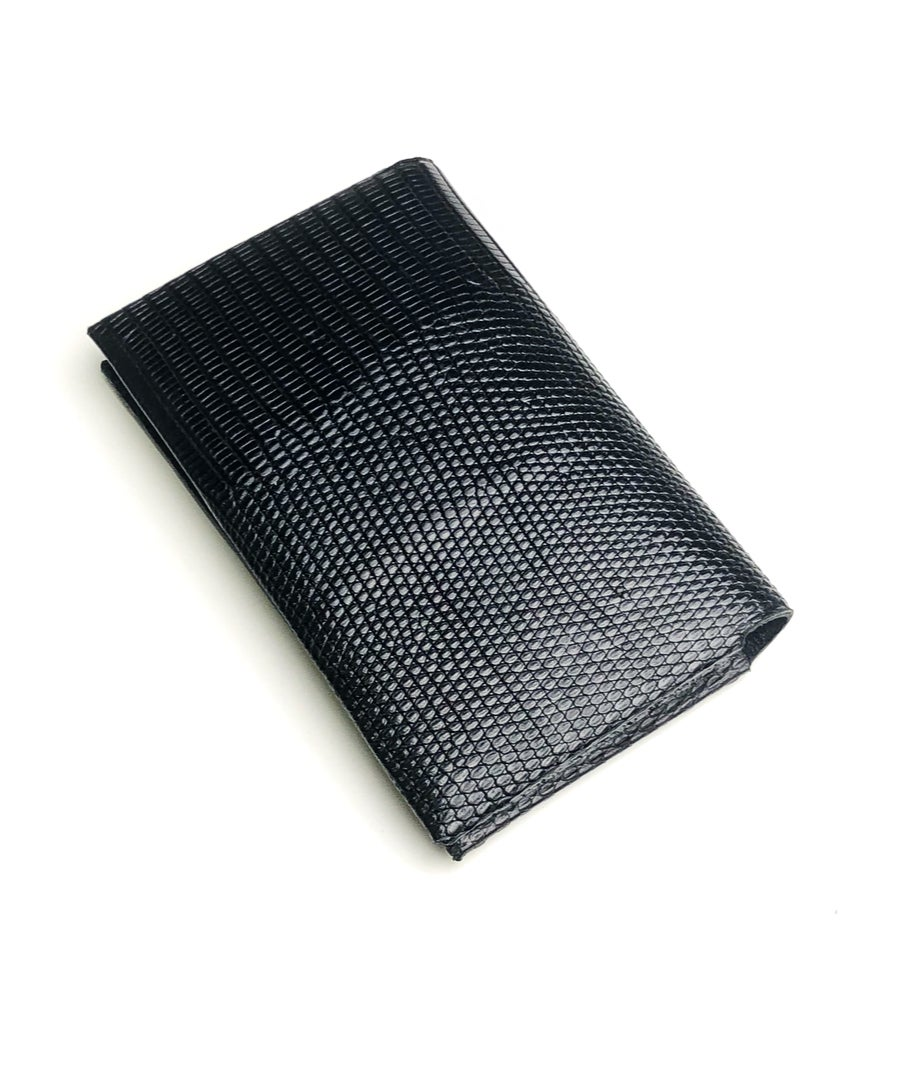 Image of Black Lizard seamless cardholder n°2