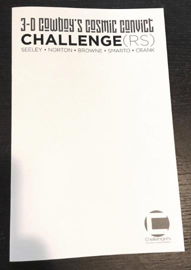 3-D COWBOY'S COSMIC CONVICT CHALLENGE #1