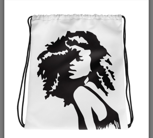 Image of Curlz drawstring backpack