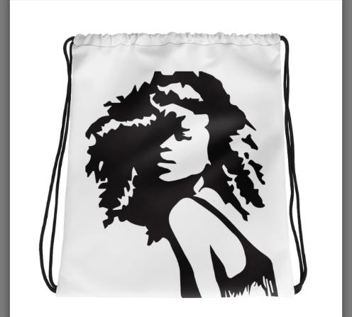 Image of Curlz drawstring backpack