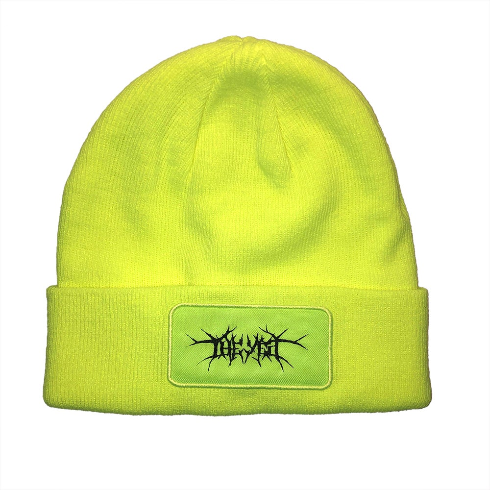 Image of Death Metal Patch Beanie