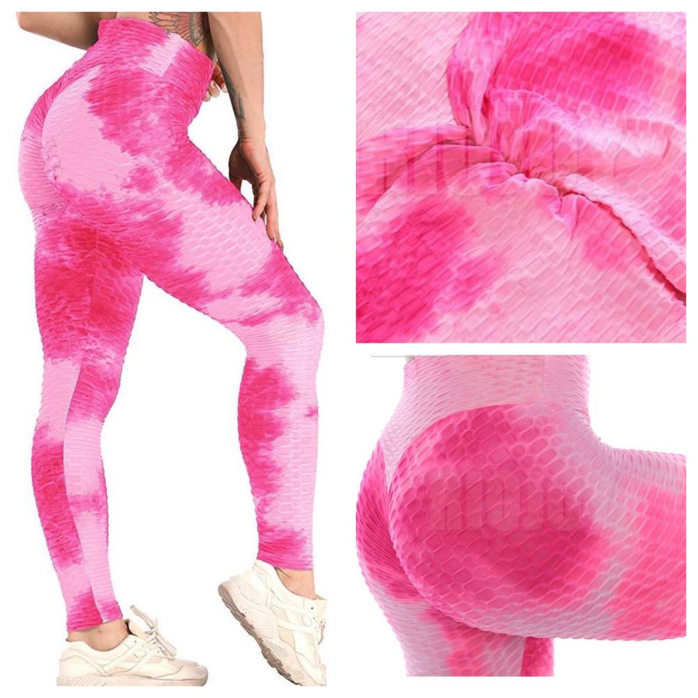 Image of AraBella BBL Leggings 🍑 (Blue Lagoon, Pretty In Pink)