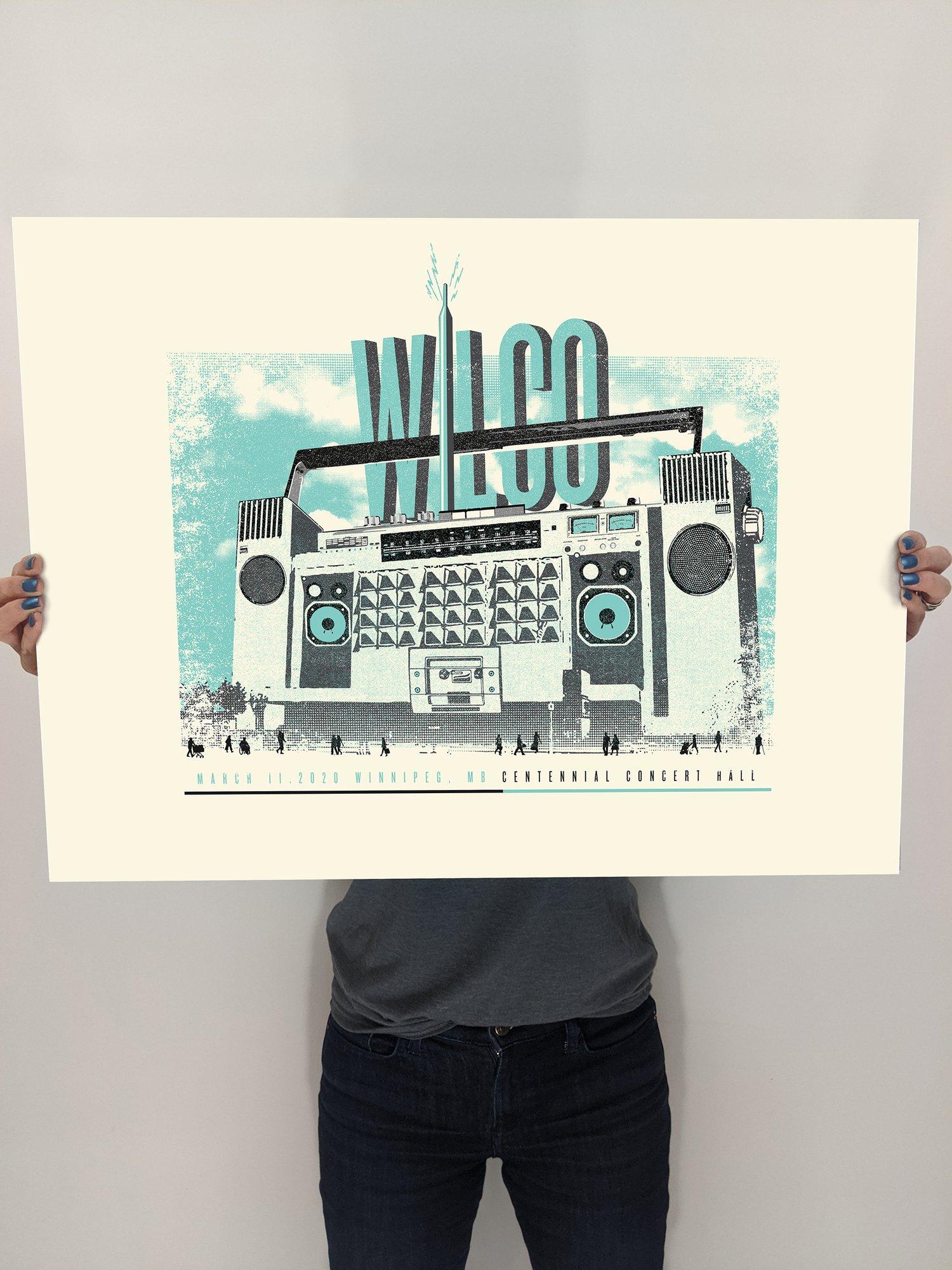 Image of Wilco, Winnipeg Boombox